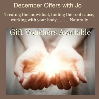 Well-being December Offer with Joanne Oliver